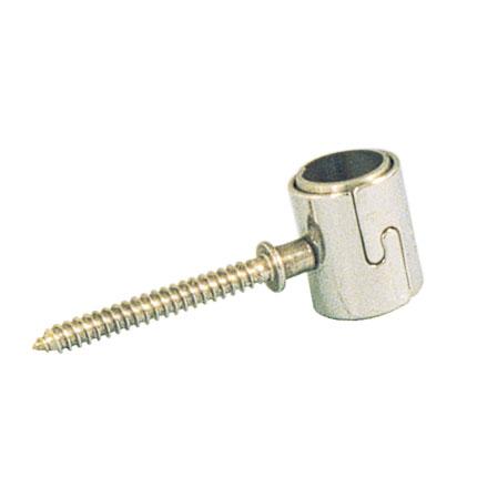Abraçadeira para tubo inox 42 simples