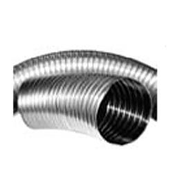 Tubo flexivel duplo d200 inox 316