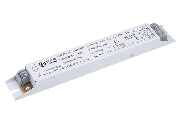 Balastro lampada flurescente t8 2x36w compacta