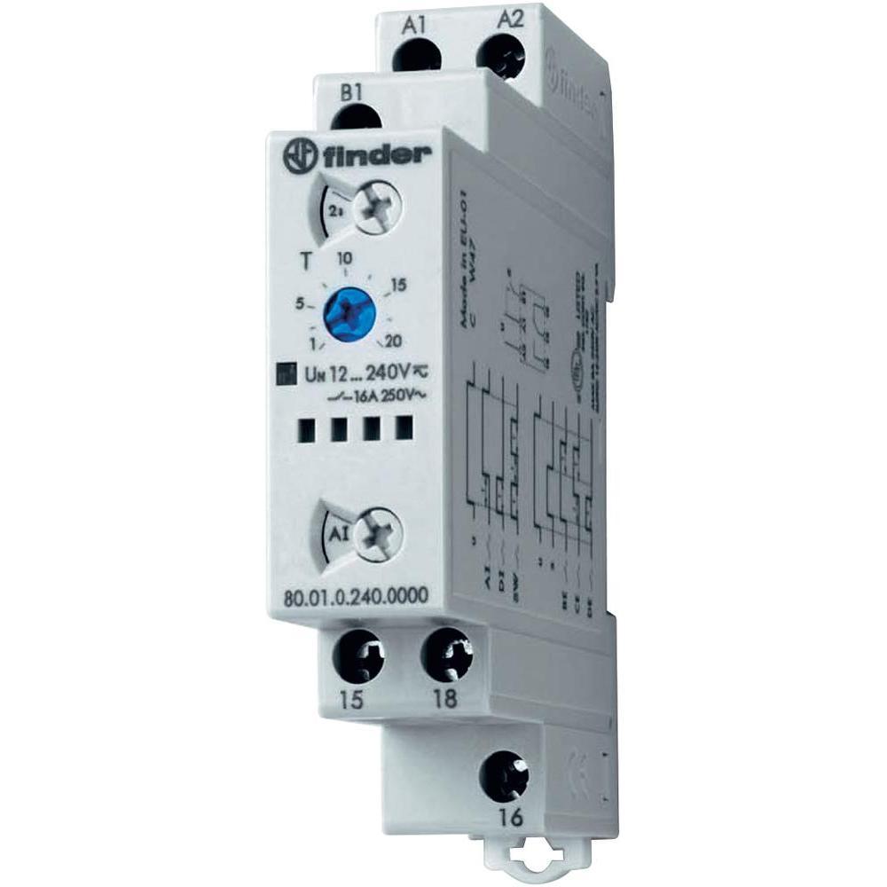 Rele temporizador modular 80.01