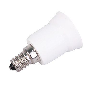 Suporte lampada e14 branco