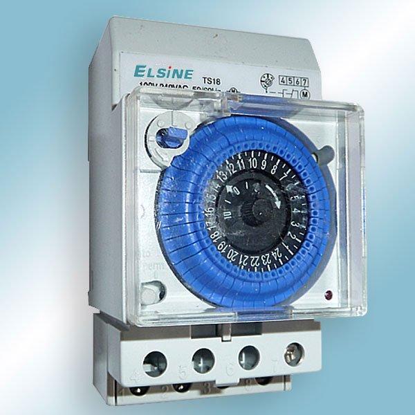 Interruptor horário com reserva 150h 3m (ts18)