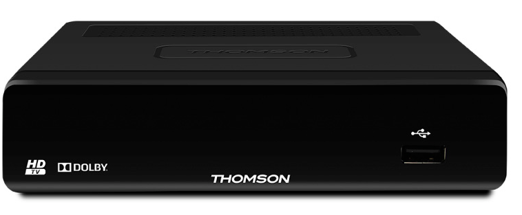 Receptor tdt hd thomson tht504 plus com display