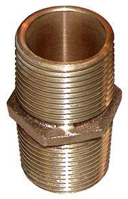 """Casquilho duplo bronze roscado mm 3/4"""""""