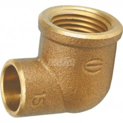 Joelho bronze r/inbt 90º sc 15x3/4 f    314385