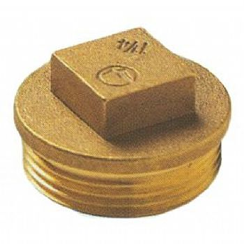 Taco macho bronze m 1/2  serie