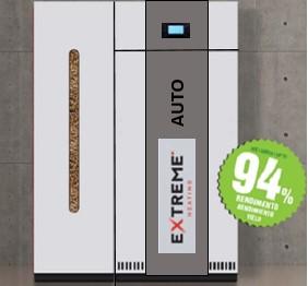 Caldeira pellets extreme auto 27 kw