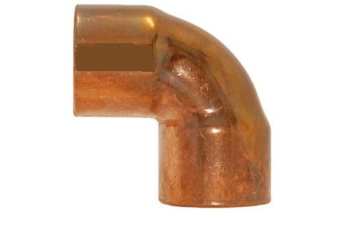 """Curva cobre soldar c/f 90º 22x3/4"""" 5002g"""