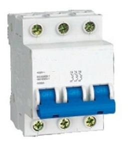 Disjuntor 3p+ n 63 amperes 6ka