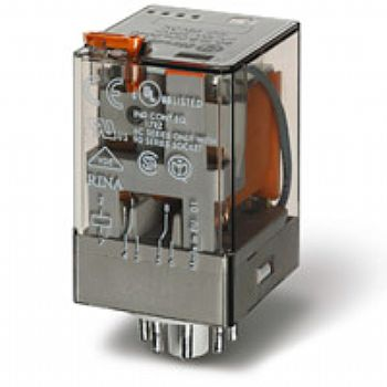 Rele industrial 4 inversores 7a b-24v dc
