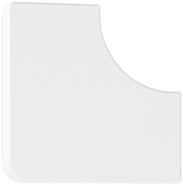 Angulo plano para calha 40x16 10063 abr