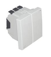 Botão duplo pers - 2mod 45281 sbr