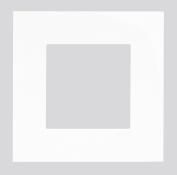 Espelho simples branco 45910 tal
