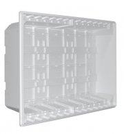 60040 2gb-caixa embeber quadro 40 módulos 24 mód+dcp