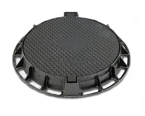 """Tampa articulada circular """"saneamento"""" r1ad400"""