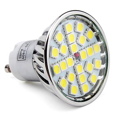 Lampada 24led gu10 4w 3000k