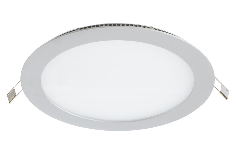 Downlight redondo 160mm 1xe27 branco