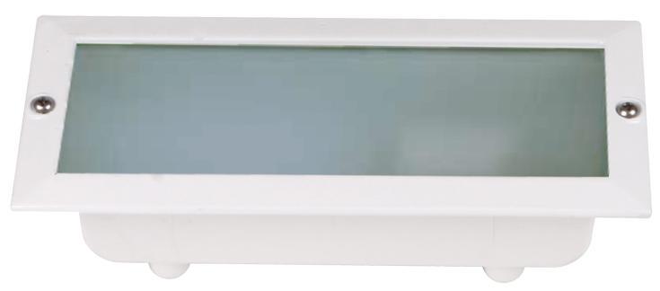 Aplique muro g23 com lâmpada 1x9w branco