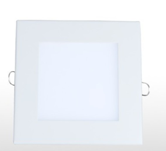 Downlight quadrado led 12w branco 6500k