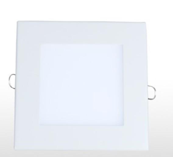 Downlight quadrado led 12w branco 6500k