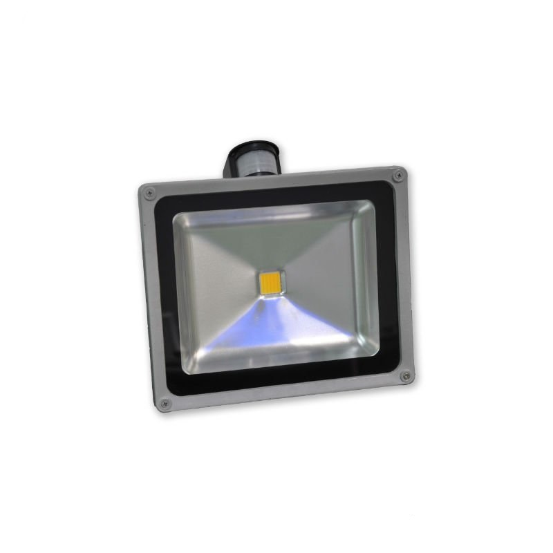 Proj. exterior led 30w ww 2700k