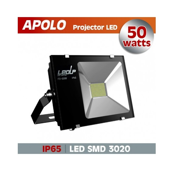 Proj. led apolo 50w 6000k 5000lm ip65