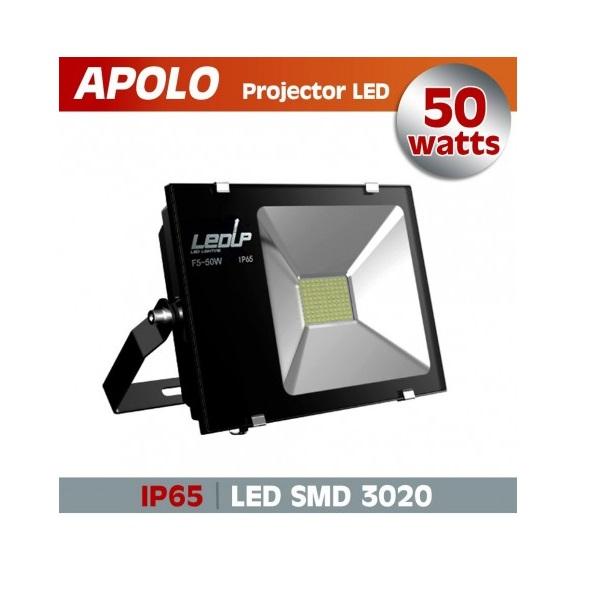 Proj. led apolo 50w 6000k 5000lm ip65