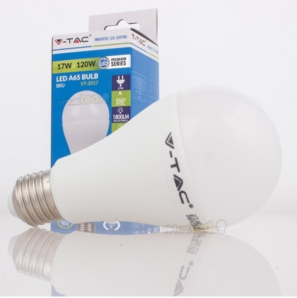 Lamp led a65 e27 17w 4500k 4458 allround