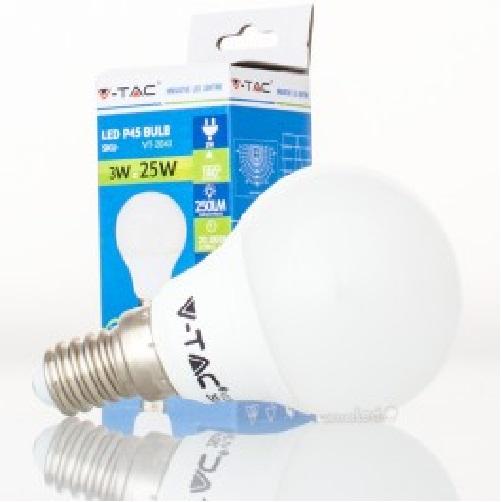 Lamp gota led e14 3w 4000k 7200