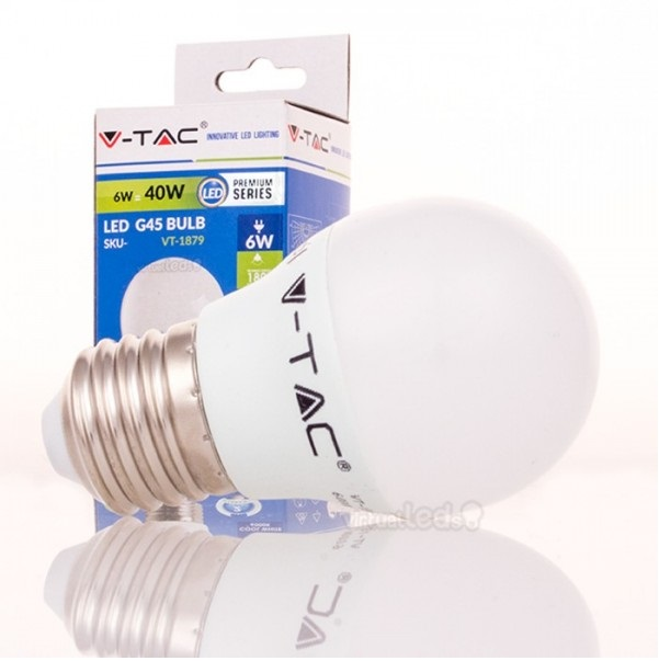 Lamp lustre led e27 6w 3000k 4247