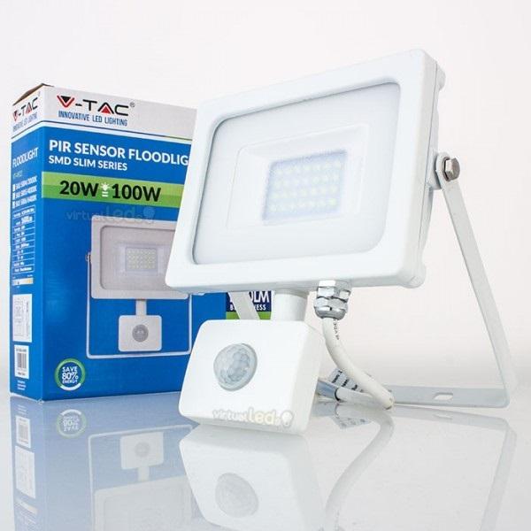 Proj. led sensor slim 20w 6000k 1600lm br. 5750