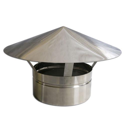 Chapeu inox 125