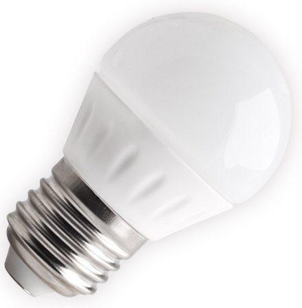 Lampada esférica fosca led 4w e14