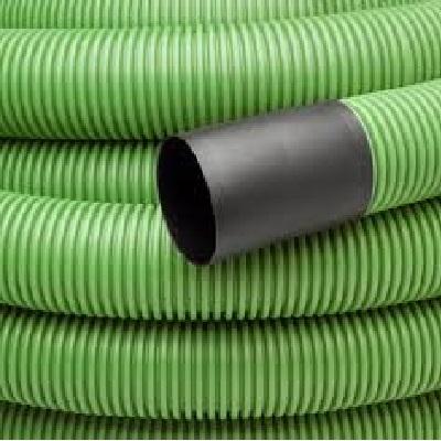 Manga dupla parede verde com guia 125