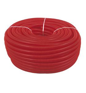"""Manga para tubo pex 50"""" vermelho"""