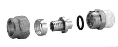R186m ligador pex 3/4x(25x2,5) macho