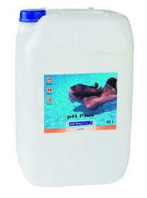 Incrementador de ph liquido 25lt astral