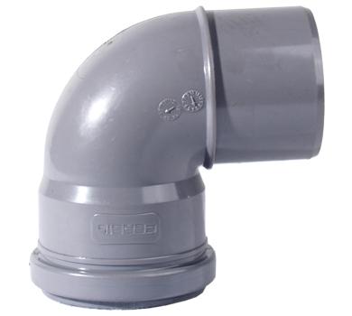 CURVA PVC 90º D140 DIN