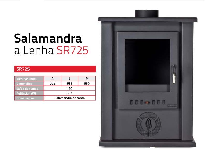 Salamandra a lenha sr725