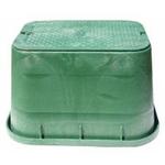 "Caixa valvulas rectangular jumbo 15"" 1320 verde"