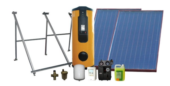 Kit solar 300/2 tp basic duo enertres