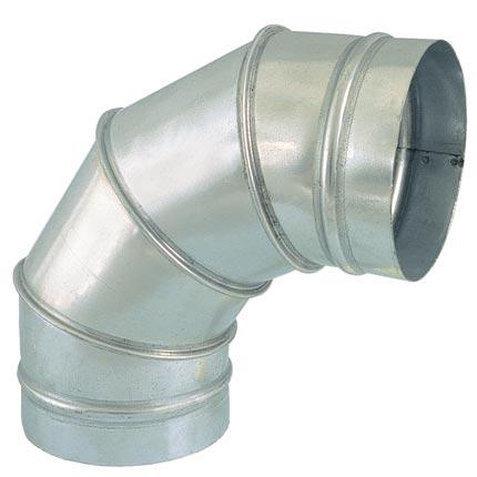Curva spiro 180mm-90º