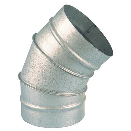 Curva spiro 180mm-45º