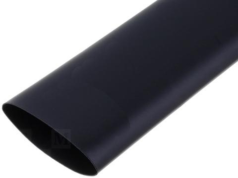 Tubo termoretratil 19x9,5 preto
