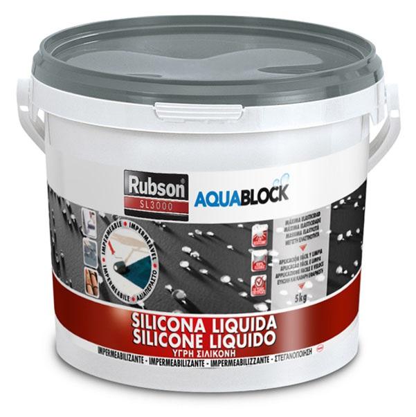 Silicone liq. sl3000 5kg cinza