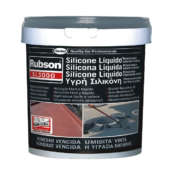 Silicone liq. sl3000 1kg cinza