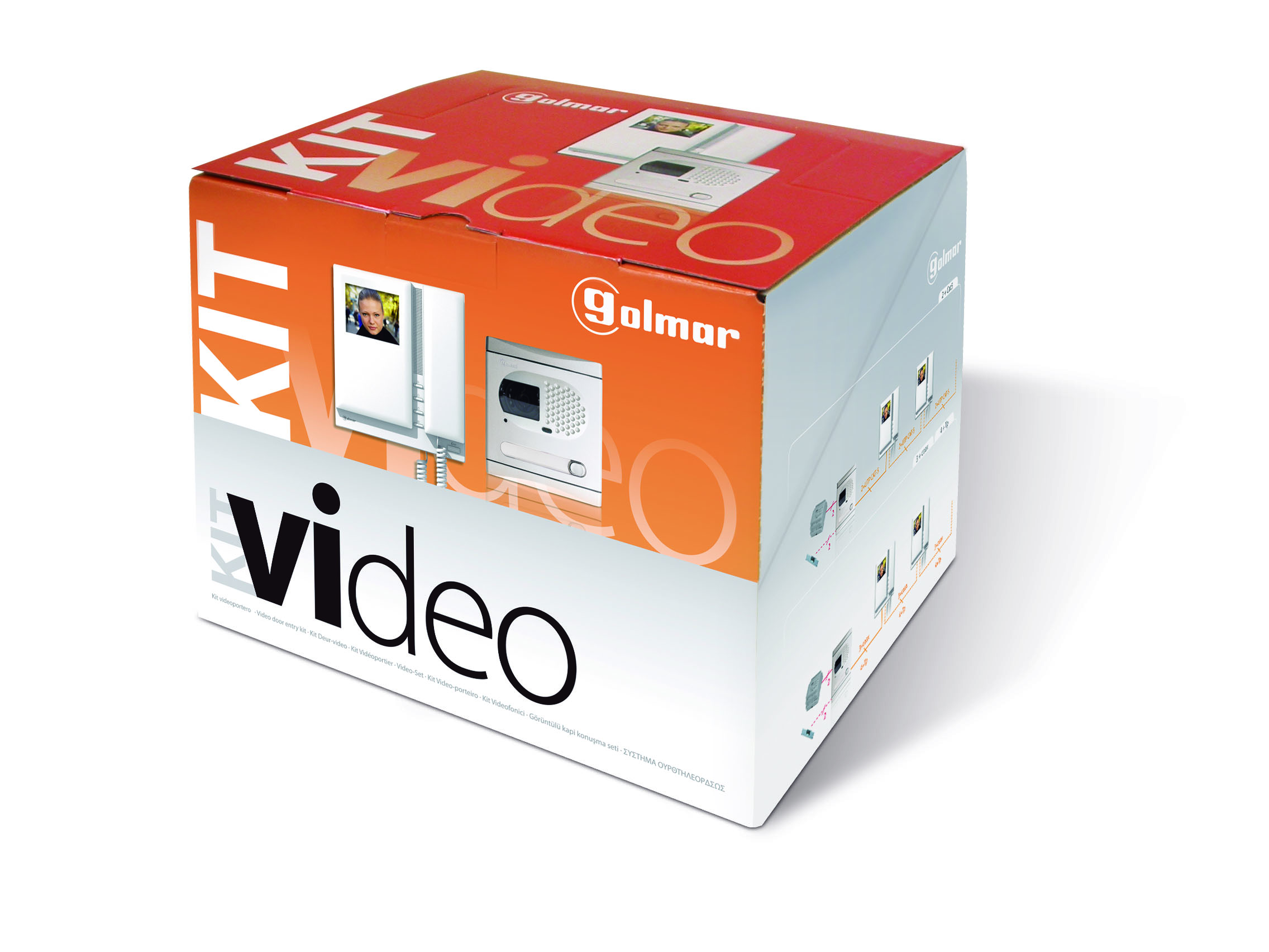 Kit video stadio platea 5110/sc